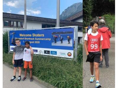 7-8 Agosto 2020 – OBERSTDORF SHORT TRACK SUMMERCAMP – Oberstdorf – Germany